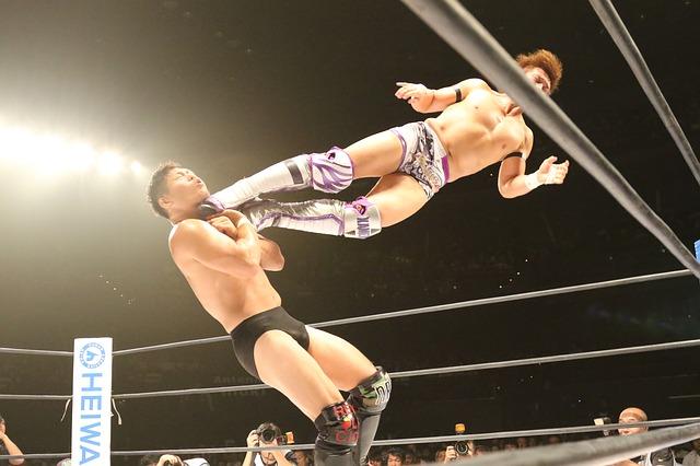 wrestlingový zápas