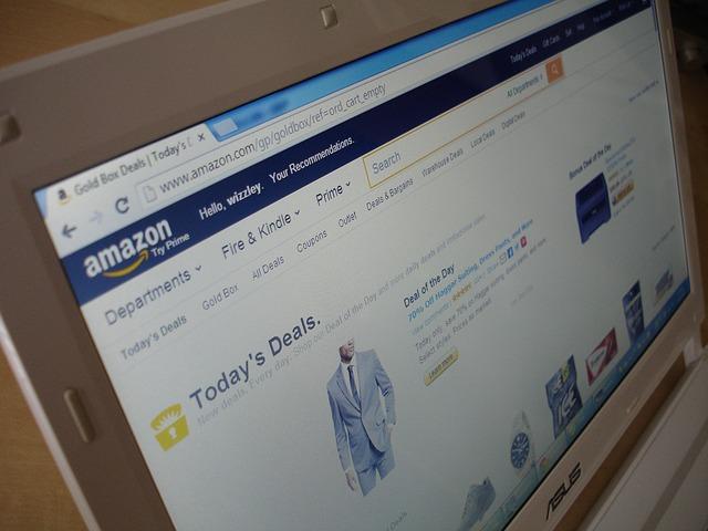 web Amazonu