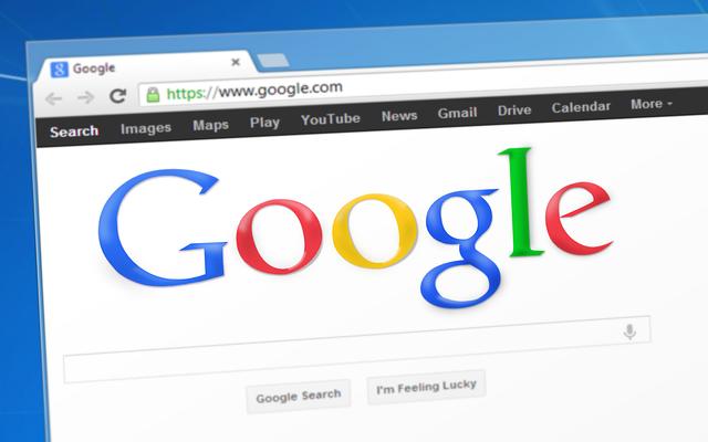 Domovská stránka Google